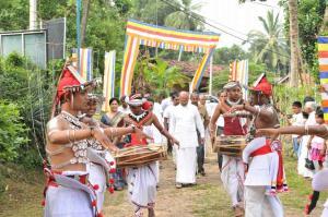 Jagath Sumathipala - Dining room donation for Dompe Bandaranayake Elders Home 2018 08