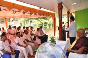 Jagath Sumathipala - Dining room donation for Dompe Bandaranayake Elders Home 2018 17