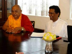 Lama Lobzang Visit Sri Lanka1