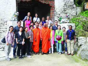 Bhutan Tour of Mr Jagath Sumathipala3
