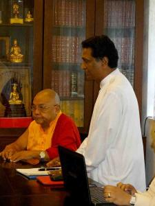 Lama Lobzang Visit Sri Lanka2
