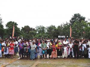 Thaiwan Samadhi Village in Amabalanthota Tsunami 02