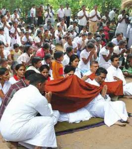 Katina Pinkama at Historical Henannagala Aranya Senasana 1